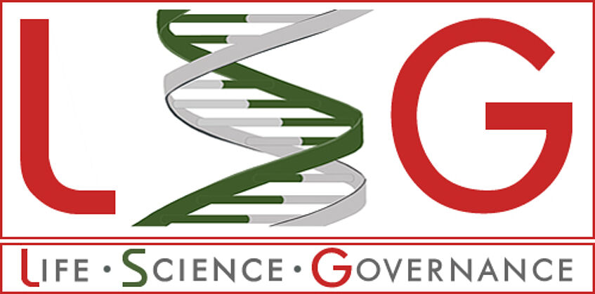 Logo Forschungsplattform Life Science Governance